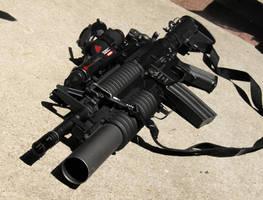 Classic Army M15A4 M203 RIS by Viper818