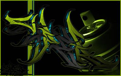 Viper Digital Graffiti Piece 6 by Viper818