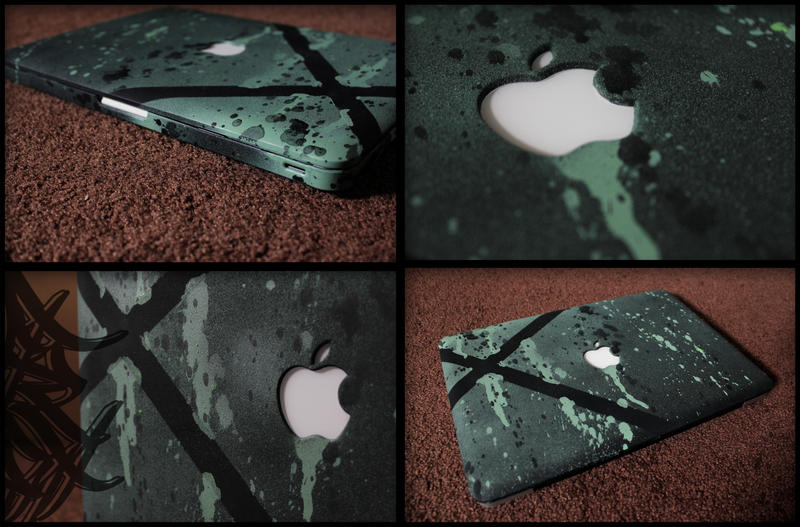 Macbook Pro Painted by Viper818