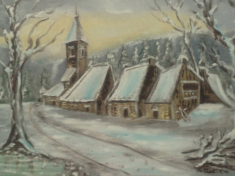 Snow landscape 3