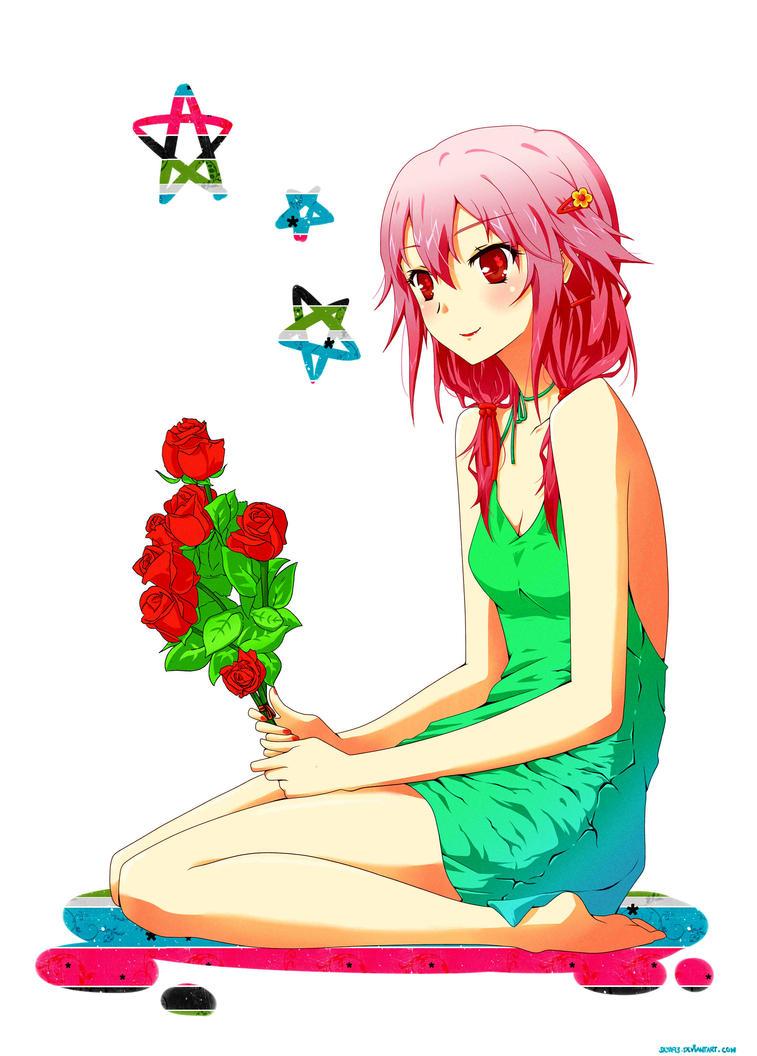 Inori Yuzuriha by saya93