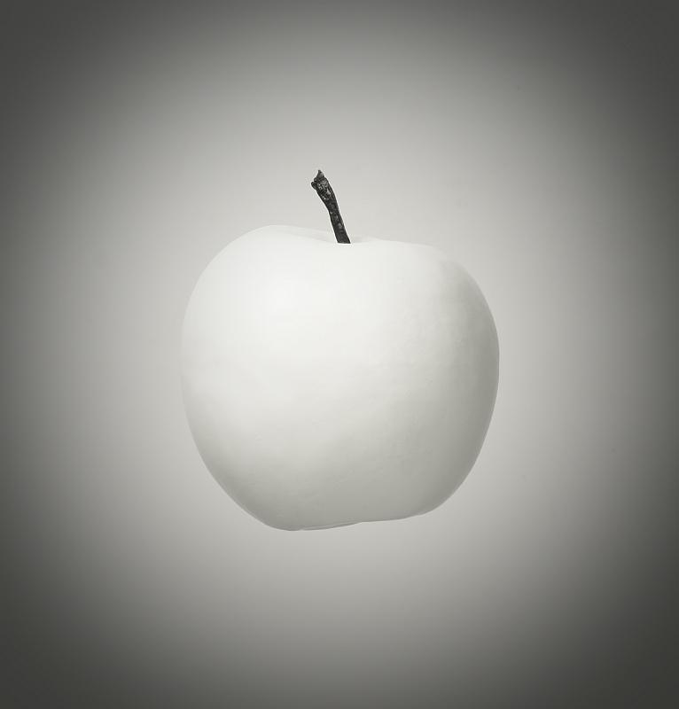 white apple by catalinbujdei