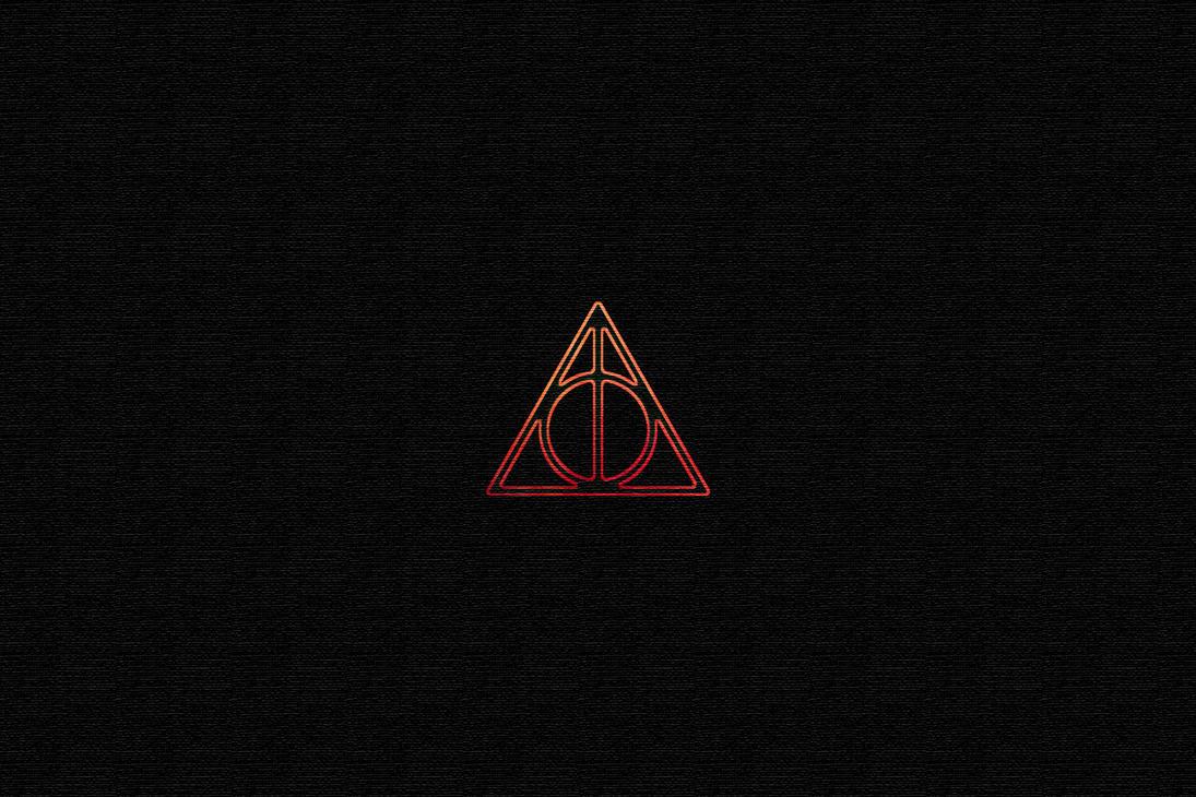 deathly hallows symbol by spuriusantonius on deviantart