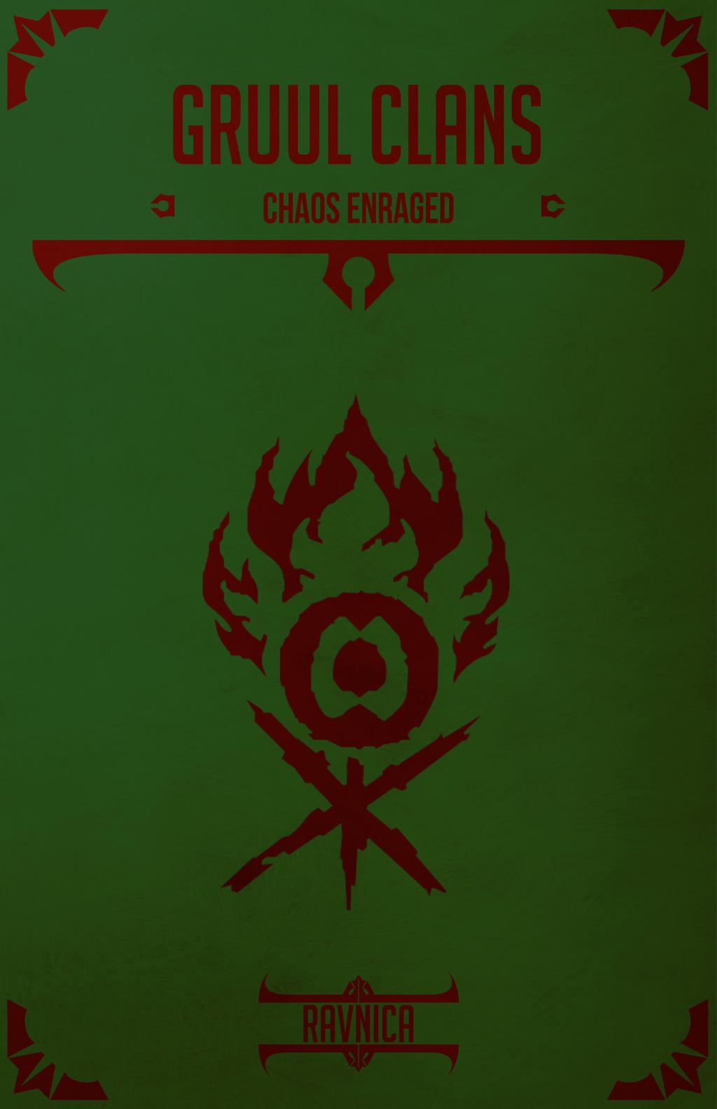 Gruul Clans by SpuriusAntonius