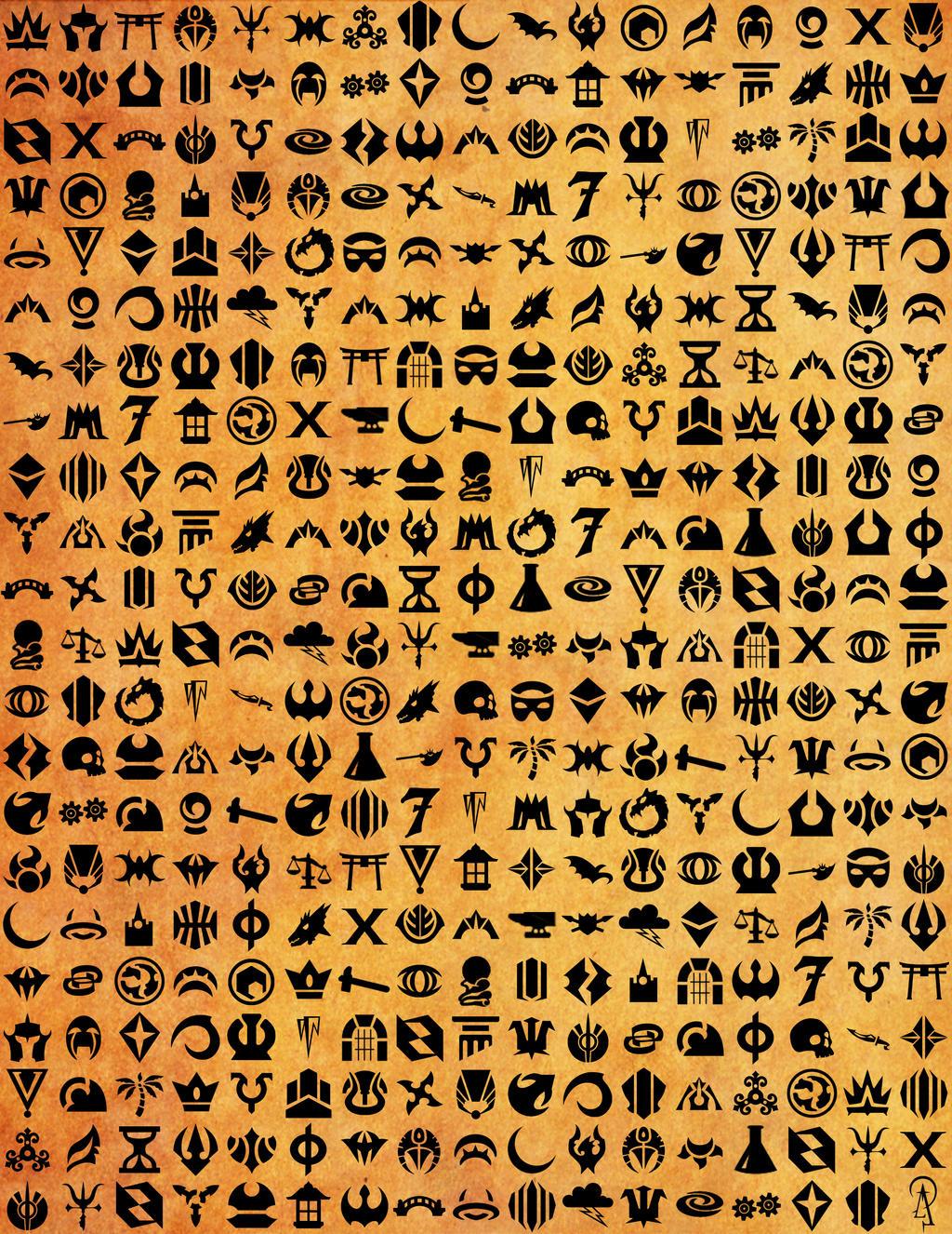 Mtg Guild Symbols  Magic The Gathering  Pinterest  Mtg