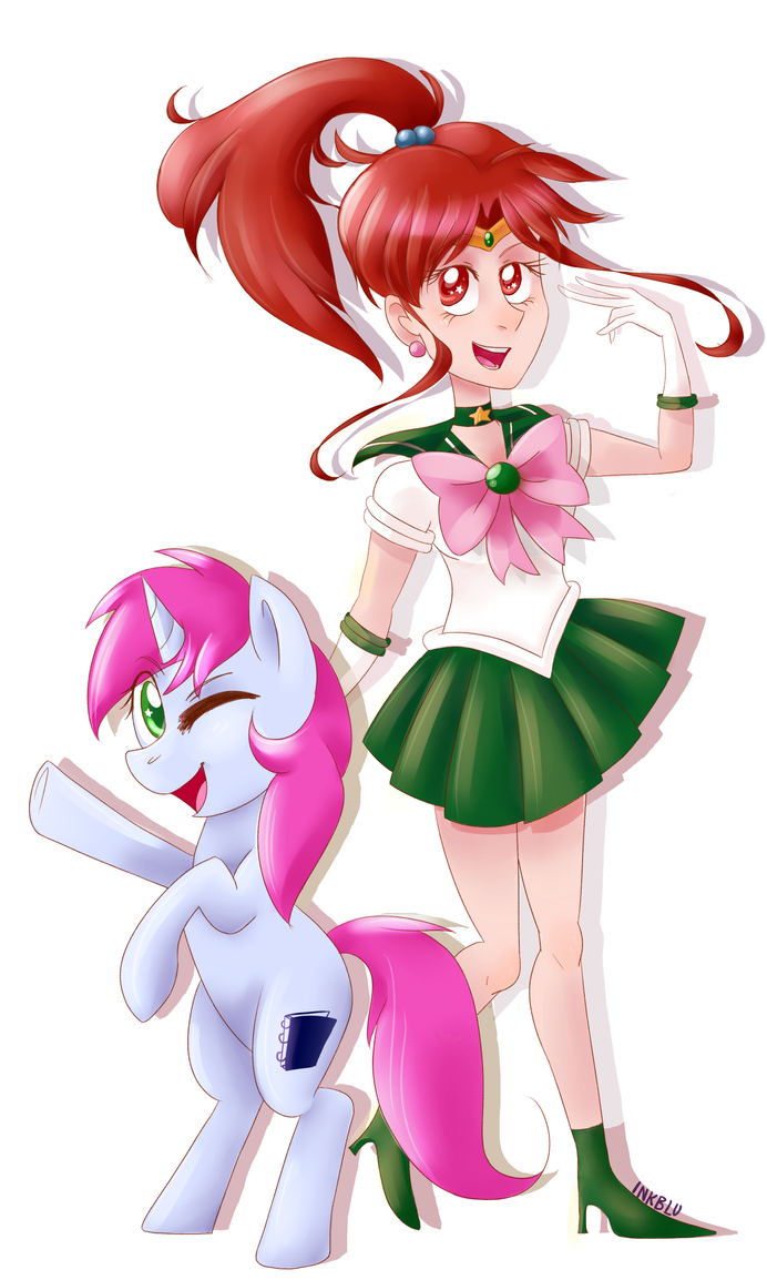 Sailor Pony Scouts Yaaay! by InkBlu