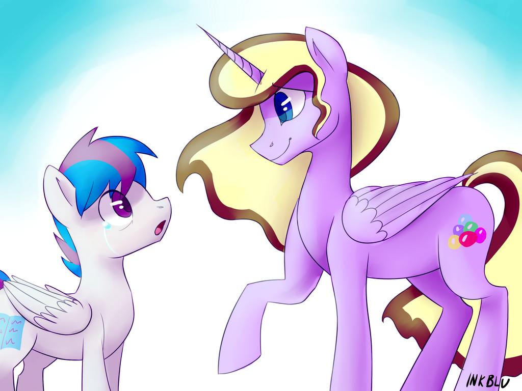 You Silly Pony by InkBlu