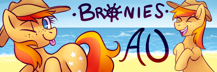 Banner For Bronies Australia by InkBlu