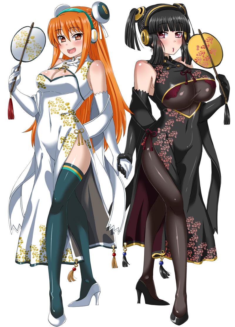 Characters: Mercenaries - Page 2 __hinazuki_ririna_and_umegiri_iroha_beatmania_draw_by_makothesquirrel-dbvw5ry
