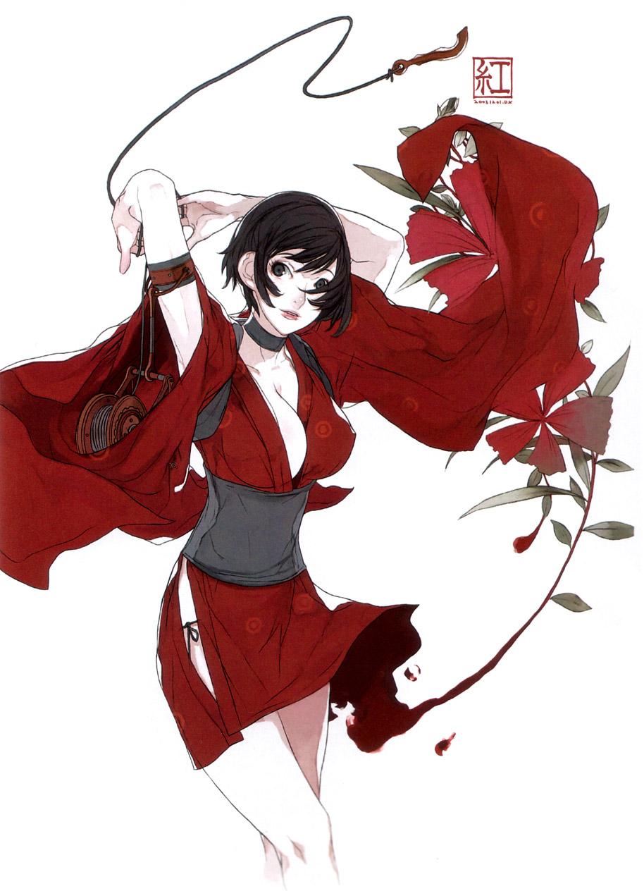Characters: Human - Page 3 __kurenai_red_ninja_drawn_by_d_k__1d774d2cdf64cf9e_by_makothesquirrel-dbxvy6j