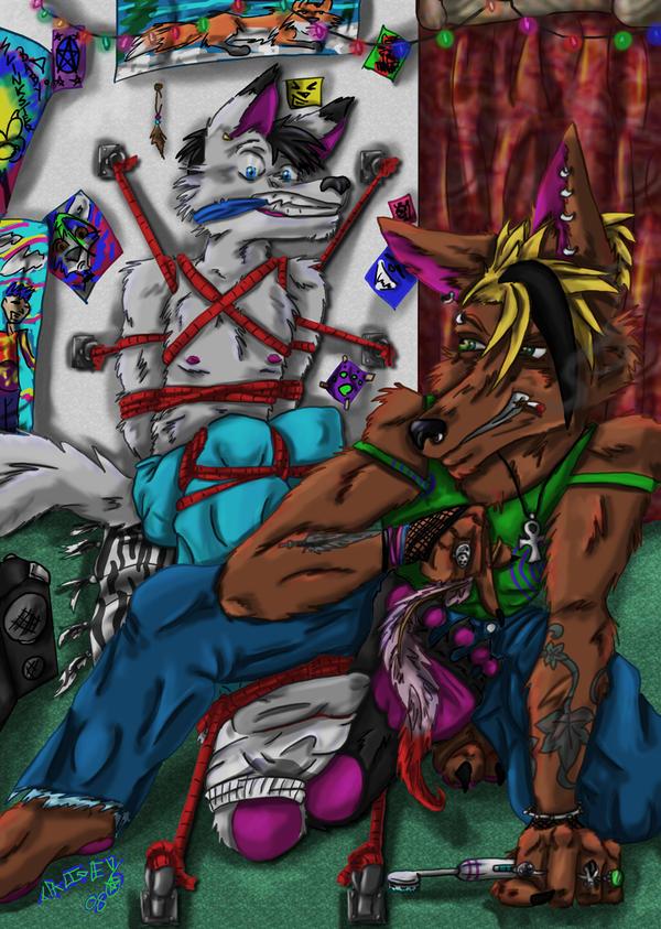 trade-tearin by DeliriousFoxglove