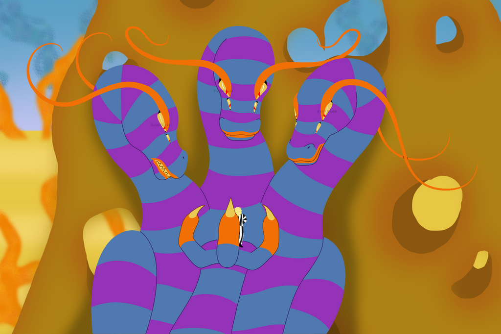 The Sandworm Queen by FableworldNA