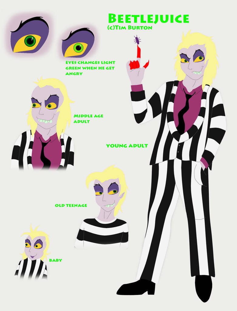 Beetlejuice Ref By Fableworldna On Deviantart