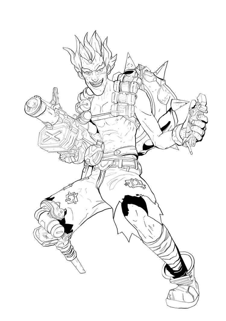 Overwatch Zenyatta Coloring Coloring Pages