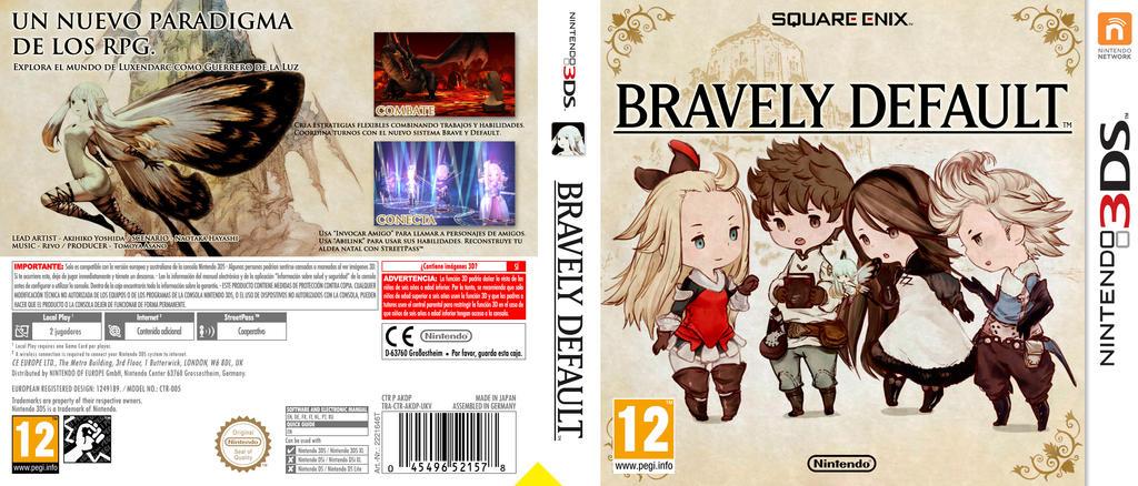 Bravely Default by 4N63L on DeviantArt