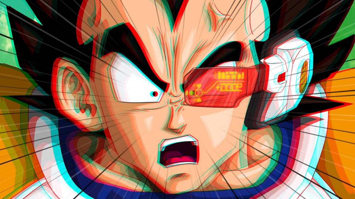 IT'S OVER 9000!!! (Anaglyph 3D Test/WIP!) by LierACC