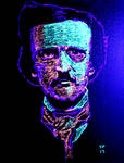Neon Poe Black Light by jpjpress