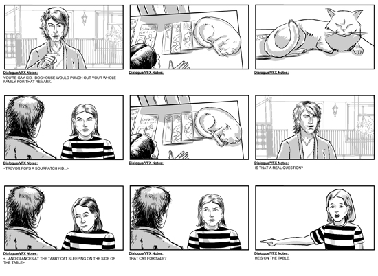 Attractive Feature Film Storyboards Part 2 By ErikRose ...