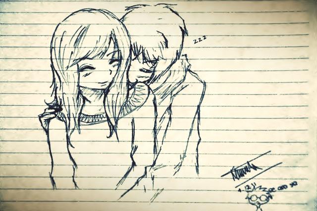 couple series - hug by devinakemmy
