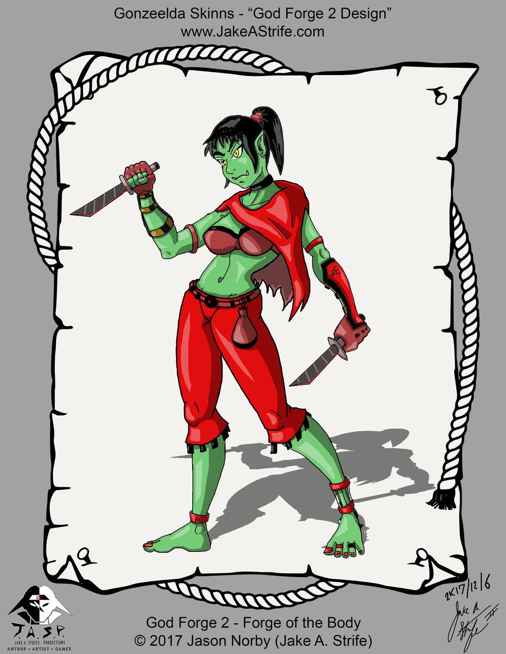Gonzeelda - 2K17-12-06 - Digital (GF2 Design) by JakeAStrife
