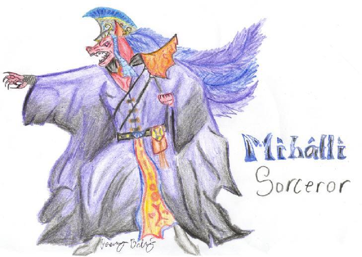 Mihalli Sorceror by Fireborn46