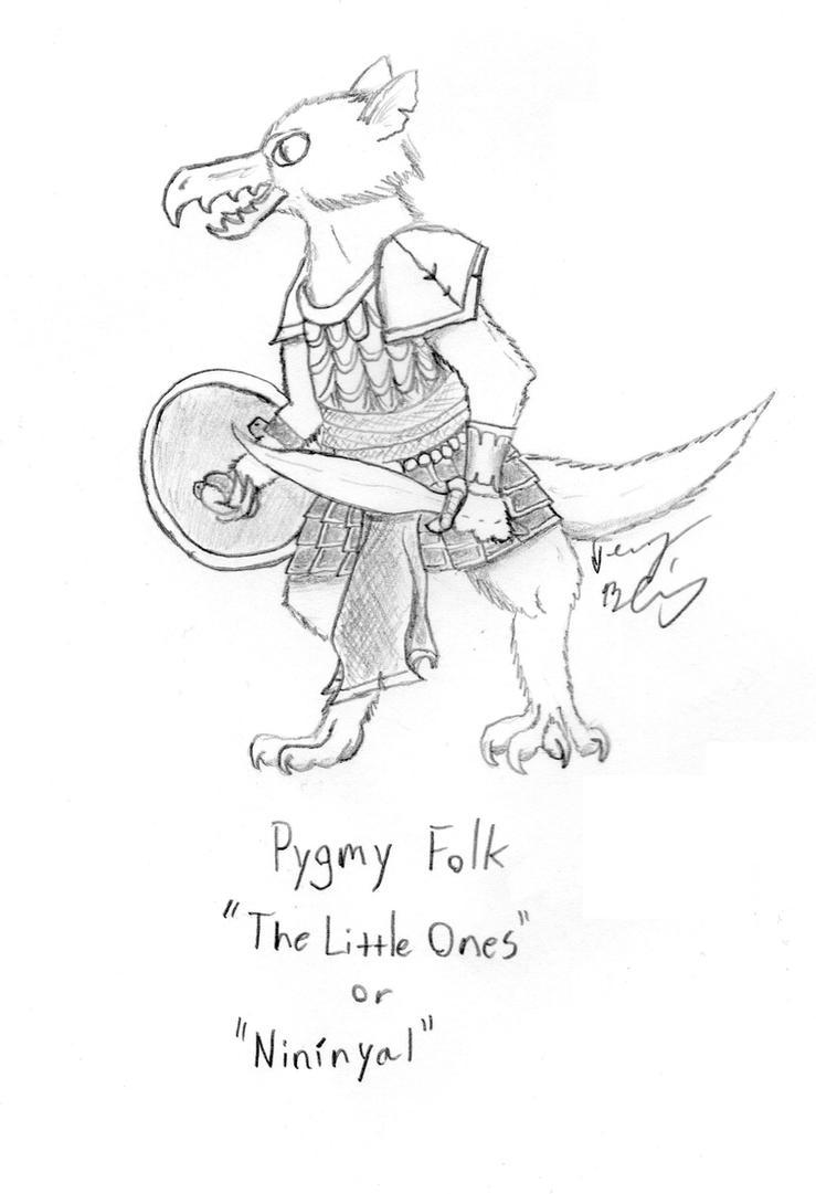 Pygmy Folk by Fireborn46