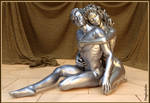 Til The End Of Time - Platinum Sculpture by DouglassJohns