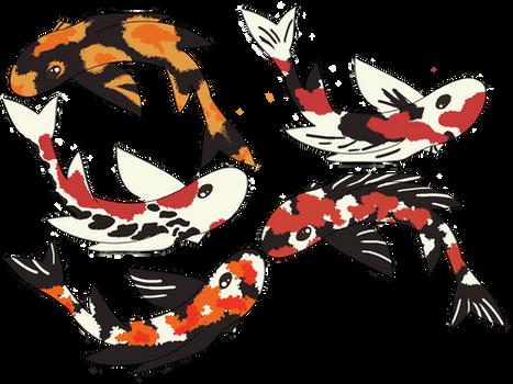 Koi fish OR Dragon adoptables