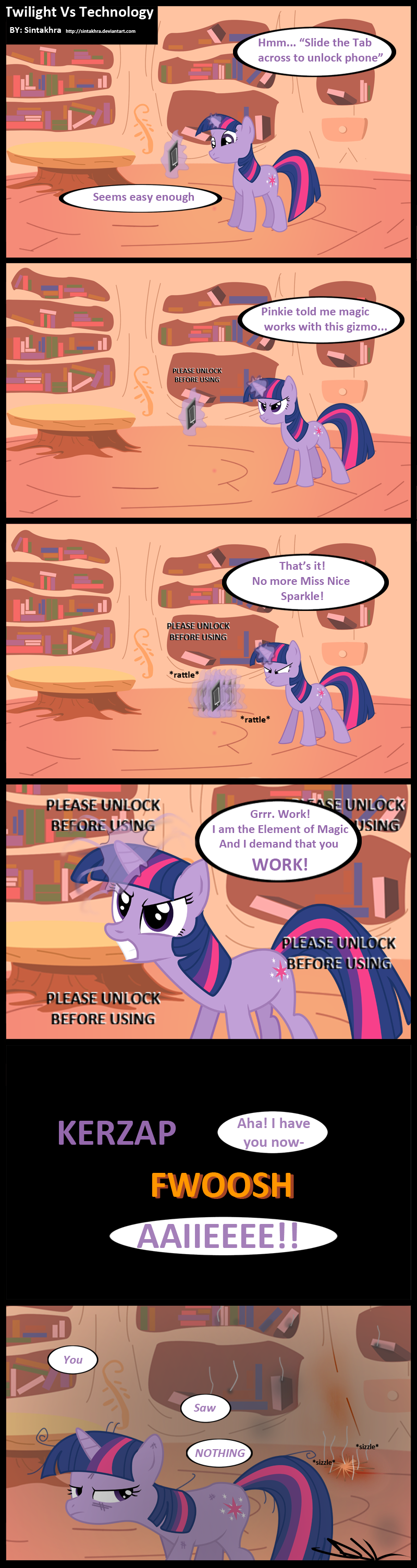 Twilight Vs Technology by Sintakhra