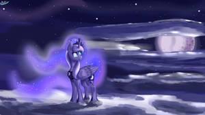 Basking in the Moonlight