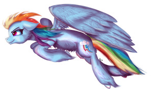 Weekly Raffle #7 - Rainbow Dash by Sintakhra
