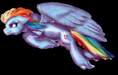 Weekly Raffle #7 - Rainbow Dash by Sintakhra