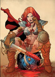 Red Sonja by RodrigoKatrakas