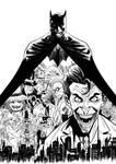 Batman - Villians of Gotham - Inks