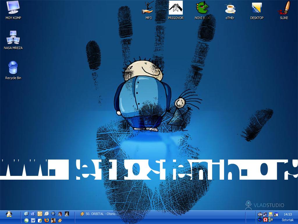 my de3ktop by saiunuk