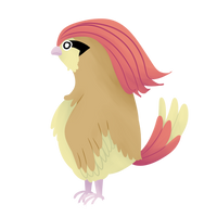 Gotta Draw 'Em All- #017- Pidgeotto by AbbyTLaRue