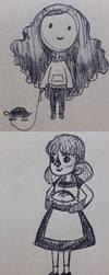 Fall Doodles by AbbyTLaRue
