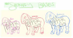 NEW SHONKEY BASE + info inside