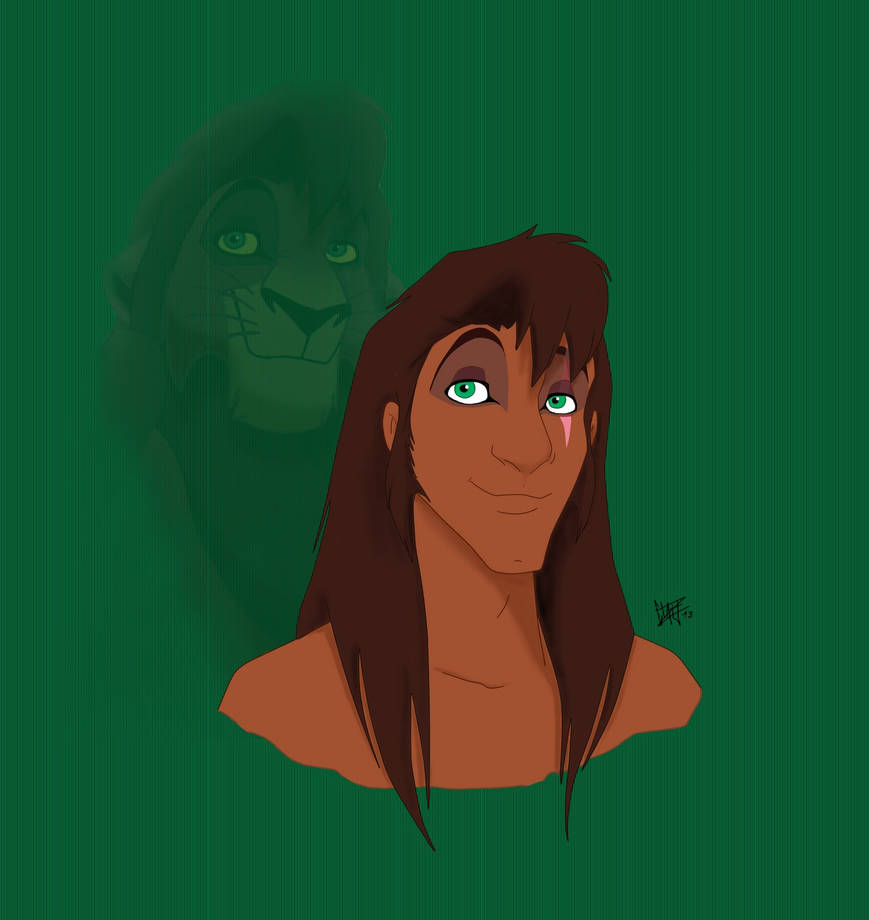 Human Kovu by Xibira on DeviantArt