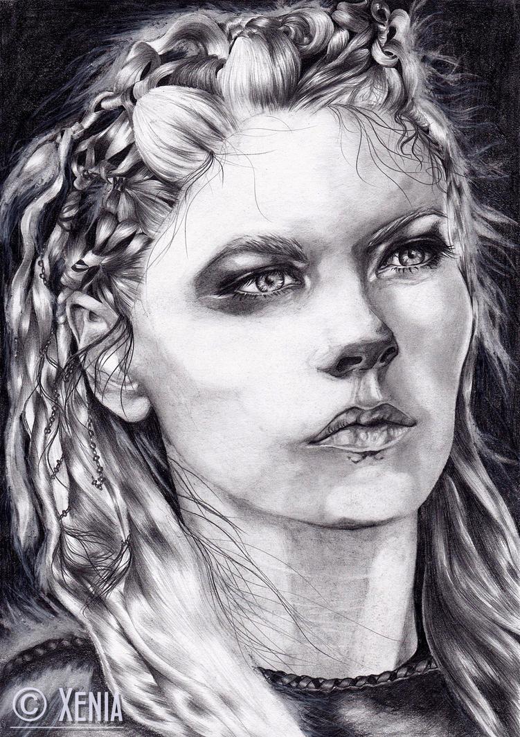 Lagertha Lothbrok by WhitePower188