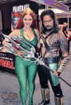 OzComicCon   DC Comic's - Aquaman and Mera