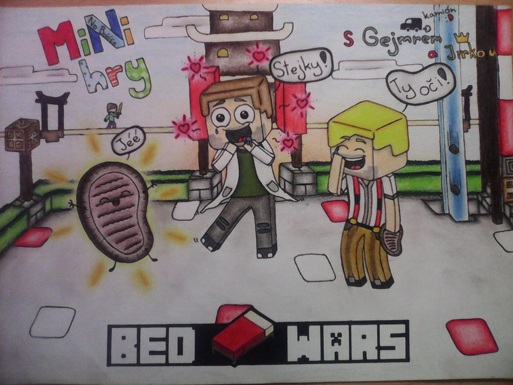 Minecraft  Bed Wars By Alex555x3 ...