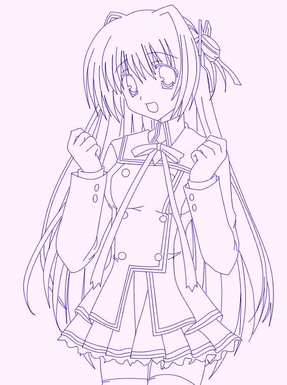 Kawaii Anime Girl By NarutoShippuuden On DeviantArt