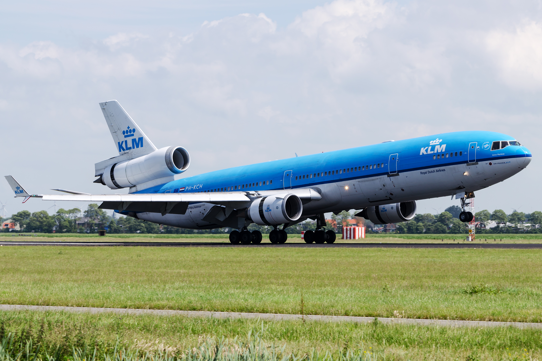 KLM's retired McDonnel...