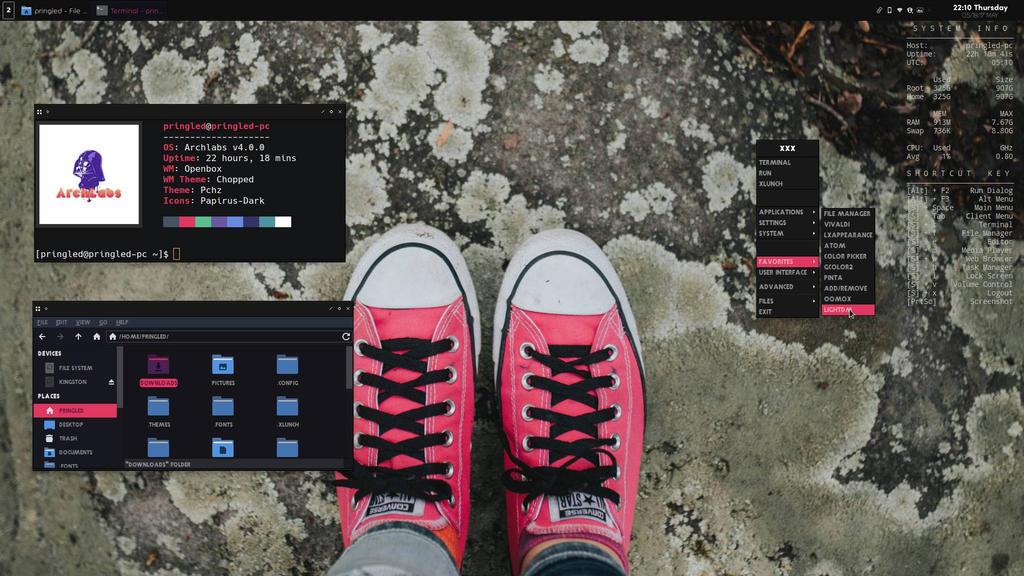 openbox desktop, version 73752982 by deepeeringle