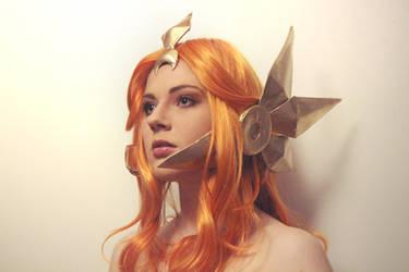 League of Legends Leona by MayWolf23
