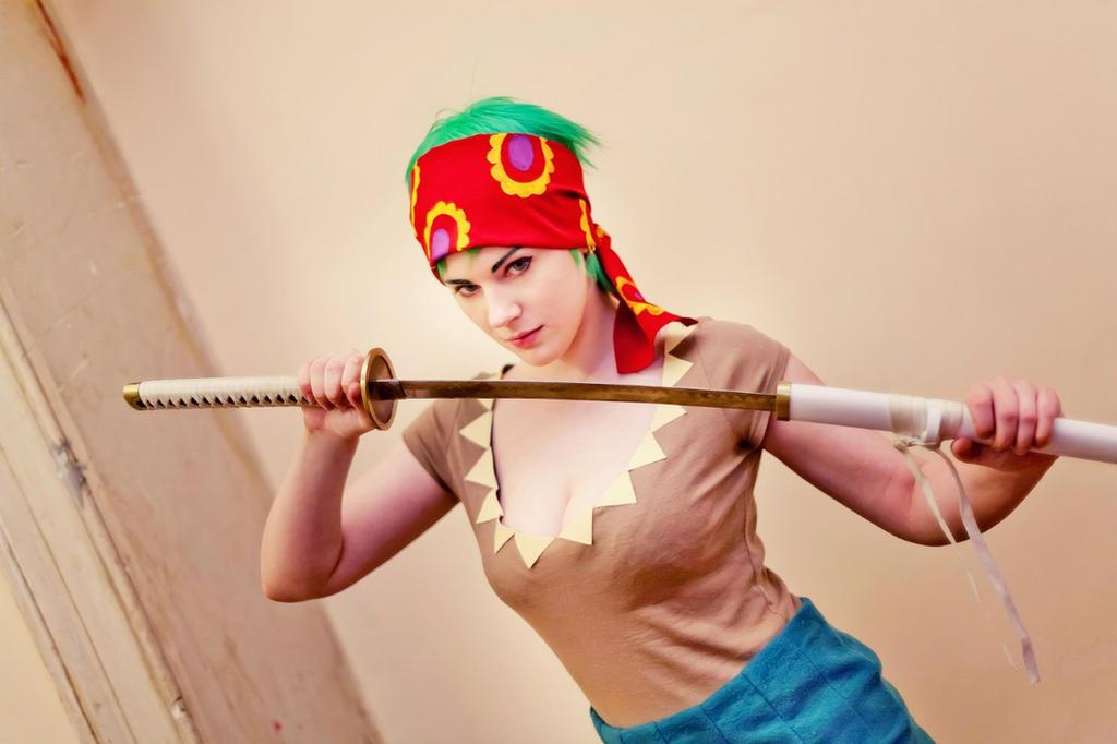Strong World Fem!Zoro by MayWolf23