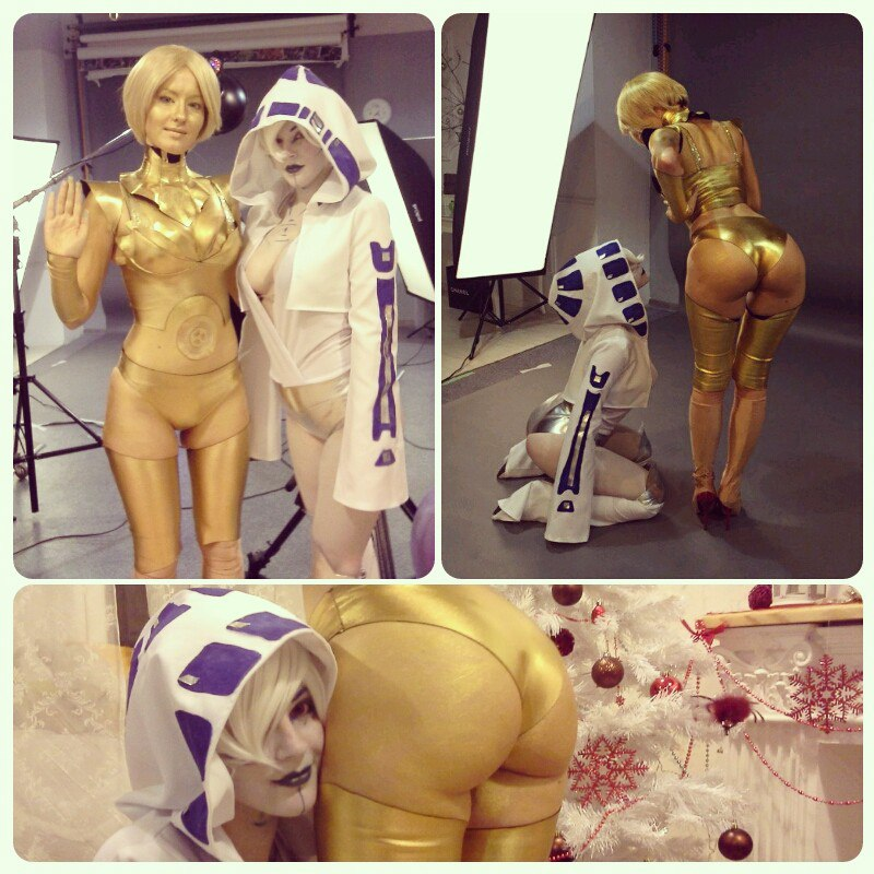 StarWars Backstage: Droids by MayWolf23