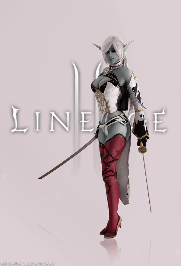 Lineage 2 Dark Elf by MayWolf23