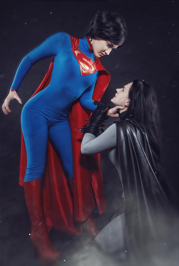 Batman vs Superman .. by MayWolf23
